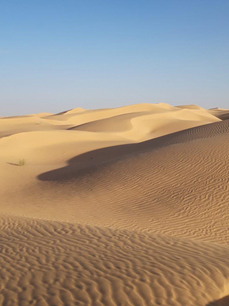Yoga et Randonnée au Sahara, en Tunisie